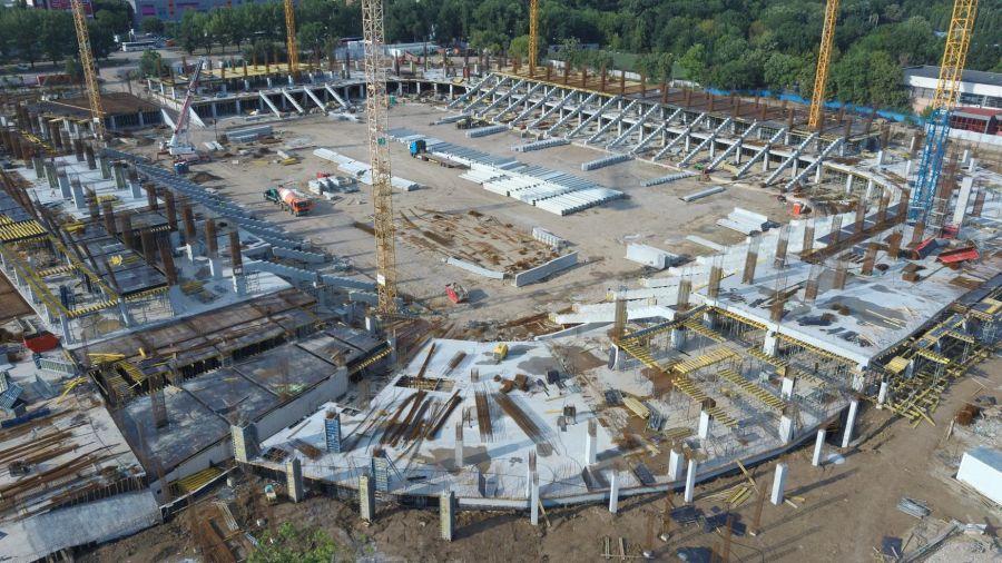 Stadion Steaua - stadiul lucrărilor