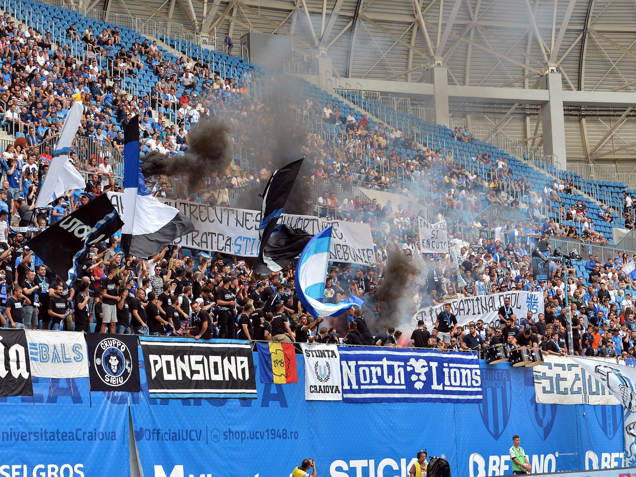 Craiova - Clinceni 3-2 FOTO: facebook.com/UCVOficial