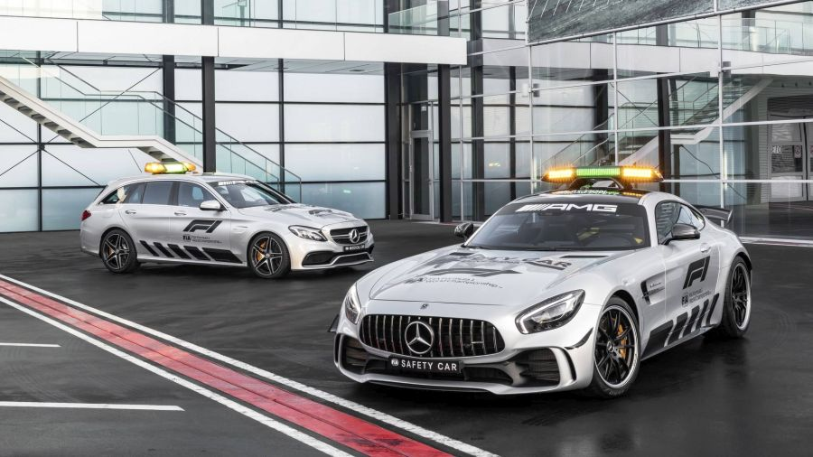 2018 mercedes amg gt r formula 1 safety car 10