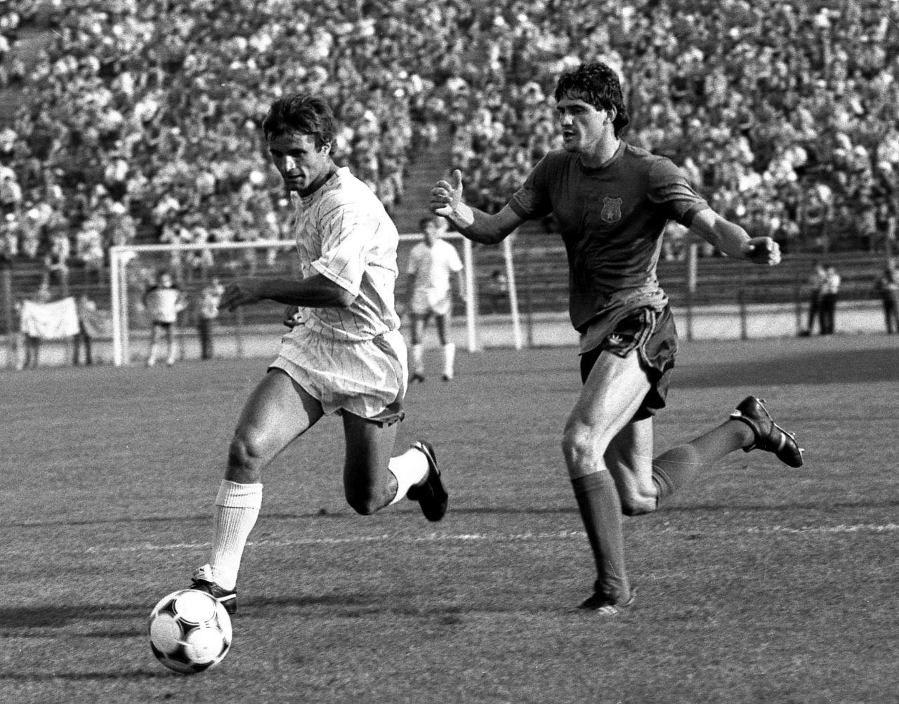 Steaua-Dinamo, duel Iovan-Orac
