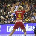 Bojana Popovici a marcat 63 de goluri pentru Buducnost în actuala ediţie a Ligii Foto: Gabriela Arsenie