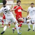 """Bakaj a făcut cel mai bun meci de cînd a semnat cu Dinamo, marcînd şi primul gol în """"oficiale"""" Foto: Alex Nicodim"""