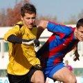 Dragoș Balauru, pe vremea cînd evolua pentru FC Snagov în fața celor de la Steaua 2