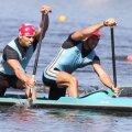 Victor Mihalachi și Alexandru Dumitrescu au astăzi programată finala de la 1.000 de metri Foto: Agerpres
