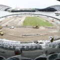 U Cluj Stadion Cluj Arena (Cluj). Va fi inaugurat în octombrie 2011. Capacitate: 30.001 de locuri