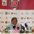 Ilie Năstase a participat la conferinţa de presă unde s-au anunţat jucătorii care vor veni la Bucureşti