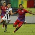 Leandro Tatu în meciul cu Astra Ploiești, scor 0-2