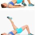 Stând pe omoplaţi, picior în diagonală sursa: fitnessmagazine.com