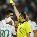 Augustus Constantin a arătat 12 cartonaşe galbene la CFR Cluj - FC Vaslui, opt dintre ele oaspeţilor