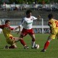 Moldovan a avut o experienţă scurtă în Ungaria, iar în ţară a evoluat pentru Alba Iulia, Farul, Dinamo şi Bistriţa