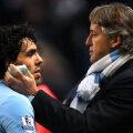 Mancini nu vrea să cedeze în faţa lui Tevez, jucător care nu este la prima abatere legată de atitudine