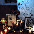 Poză făcută în Middletown, acolo unde locuieşte familia lui Chauncey. Sursa:Mara Lavitt
