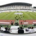 40.000, esprectiv 27.000, acesta este numărul spectatorilor care au fost pe noul Cluj Arena la cele două evenimente organizate pînă azi. Cu FC Braşov sînt aşteptaţi 10.000 de oameni