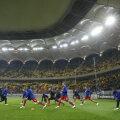 Steaua a jucat contra Rapidului primul meci pe National Arena. Naţionala României a disputat două jocuri, Rapid trei, iar Oţelul două