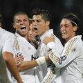Cristiano Ronaldo a reușit ambele goluri ale victoriei Realului din Franța, 2-0