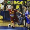 Adina Fiera a marcat cinci goluri în meciul cu Croaţia.