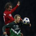 Twente, într-un meci din Liga Campionilor, împotriva lui Werder Bremen.