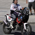 Jorge Boero s-a stins după numai 57 de kilometri parcurşi în Raliul Dakar.