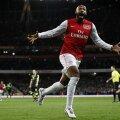 """Henry a înscris și i-a entuziasmat pe fanii """"tunarilor"""" Foto: Daily Mail"""
