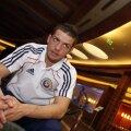 Alex Chipciu se pregătește pentru a treia selecție, vineri, contra Turkmenistanului. FOTO Alex Nicodim
