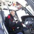Sergiu Costin și coechipierii săi au fost aduși la București cu elicopterul de 11 milioane de euro al patronului Astrei, Ioan Niculae. FOTO Cristi Preda