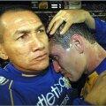 Mauricio Gallaga şi-a sfătuit jucătorul să trimită pe lîngă poartă