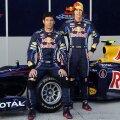 Mark Webber, alături de Sebastien Vettel