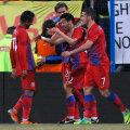 Pîrvulescu a marcat un supergol contra Astrei Foto: Raed Krishan