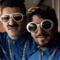 Doi dintre suporterii din Bruges care apar în filmuleț (foto: 7/7)