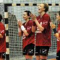 Handbalistele de la Zalău se bucură pentru calificarea în ultimul act // Foto: Mediafax