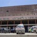 Teatrul Naţional din Somalia, la cîteva momente după atacul cu bomba