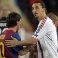 Autorul pasei la golul lui Nocerino, Ibrahimovici a reclamat un penalty la contactul din careu cu Mascherano în repriza a doua