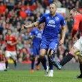 Rooney a marcat de două ori cu Everton, dar n-a fost suficient pentru victorie (foto: Reuters)