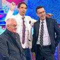 La 66 de ani, Dragomir mai are timp şi de distracţie, fiind preferatul emisiunilor de divertisment