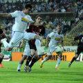 Constantin a profitat de amnezia lui Găman şi a marcat lejer pentru 2-1, din 6 metri // Foto: Gabriel Tănase