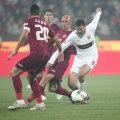 Marius Niculae a cîştigat duelul cu fundaşii ardeleni în tur, 3-2 pentru Dinamo