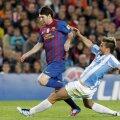 Messi și-a făcut de cap în derbyul cu Espanyol (foto: Reuters)