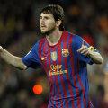 Messi, sărbătorind încă un gol.