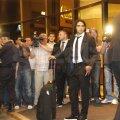 Sosirea lui Atletico Madrid la hotel FOTO: Raed Krishan