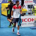 Victor Hănescu a ajuns din calificări pe tabloul principal la Madrid, dar a pierdut în runda inaugurală // Foto: Luminiţa Paul (Madrid)