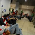 Scenă lamentabilă de pe aeroportul din Otopeni, România