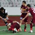 """Bornescu a sărit la Cadu, care se dusese să celebreze golul din penalty în fața fanilor """"studenților"""". Ambii au luat """"roșu"""""""