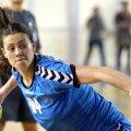 Gabriela Perianu nu poate juca cu HC Zalău fiind în pregătire cu lotul naţional Foto: Agerpres