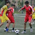 Sportivii cu dizabilități intelectuale fac echipă cu copiii normali