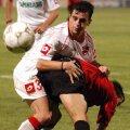 Semeghin, acum în vîrstă de 33 de ani, a jucat fotbal la Foresta Suceava, Dinamo, Petrolul, FC Argeş, Oţelul, Gaz Metan, dar şi în Israel, la Hapoel Petah Tikva