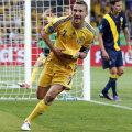 Şevcenko a decis meciul cu Suedia prin dubla marcată în repriza a doua