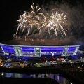 Donbass Arena a găzduit meciul dintre Franţa şi Anglia