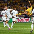Ibrahimovici a reuşit un gol fabulos în meciul cu Franţa