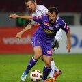 Goga nu se va mai lupta cu Bozovici, ci împreună se vor bate pentru obiectivele Rapidului Foto: MediafaxFoto