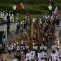 Delegaţia României la Festivitatea de Deschidere a Jocurilor Olimpice.